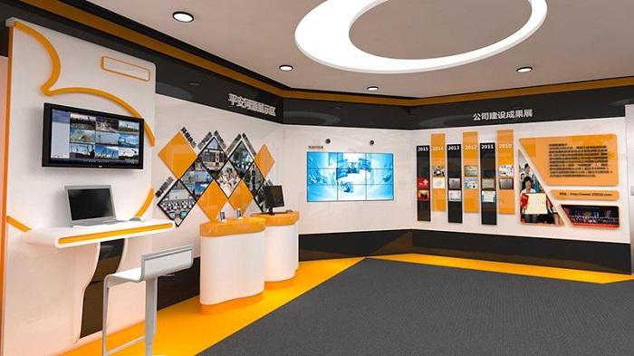 企业展厅设计效果图,企业展厅设计方案,企业展厅设计  企业展厅设计之产品创意园区,主要是将空间与创意完美结合  企业展厅设计之公司成果展示,用一种特别的色彩搭,吸引大家的眼球,关注到重点  企业展厅设计中多多媒体的运用,集中体现了展厅的整个档次,也给到了用户最佳的体验  企业展厅设计方案  企业展厅设计方案效果图展示