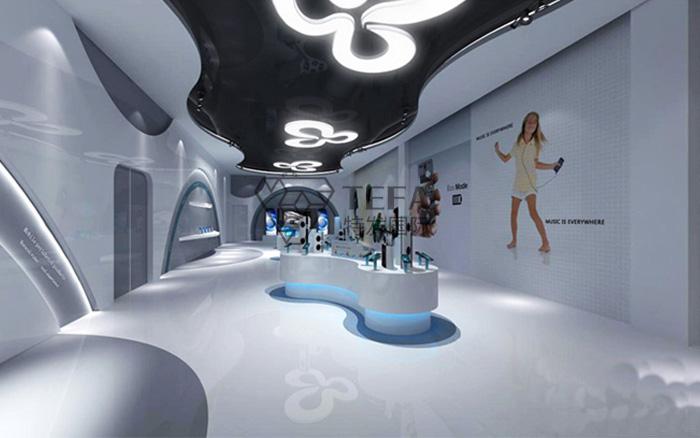 企业展厅设计,展厅设计,特发国际,多媒体展厅