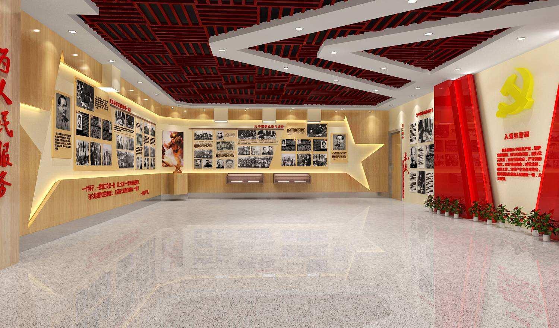 深圳党建展厅设计
